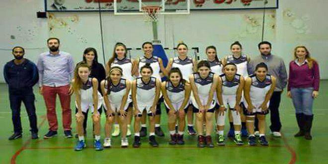 سيدات محردة والساحل يفزن على تشرين والسلمية في دوري كرة السلة