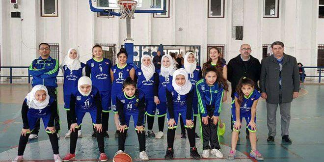 مشاركة مفيدة لناشئات النواعير في دوري كرة السلة