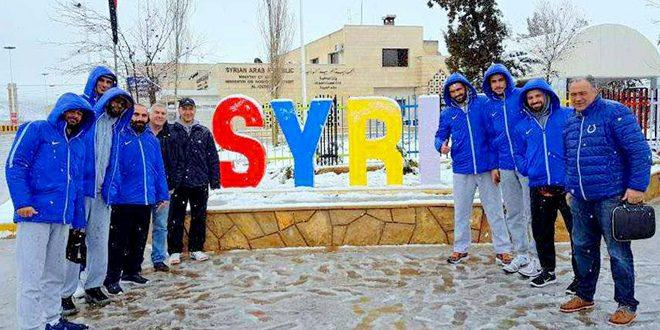 معسكر خارجي لمنتخب سورية بكرة السلة تحضيراً لتصفيات كأس العالم