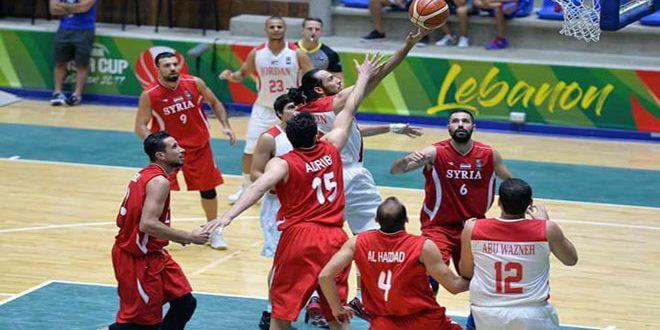 منتخب سورية لكرة السلة للرجال يخسر أمام نظيره اللبناني