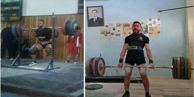 منافسات قوية في بطولة اللاذقية لبناء الأجسام والقوة البدنية