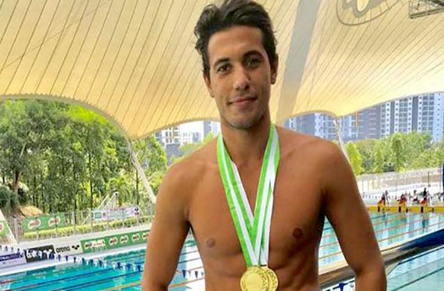 3 ذهبيات وفضية لسباحنا كلزية في بطولة ماليزيا الدولية