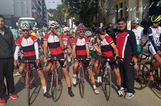منتخب الدراجات ثانياً في السباق الدولي في سكيكدة بالجزائر