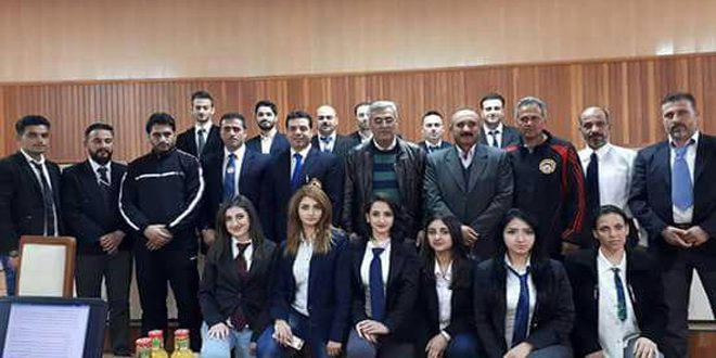 تدريب وتأهيل وتصنيف حكام مركزية بالكاراتيه في حمص
