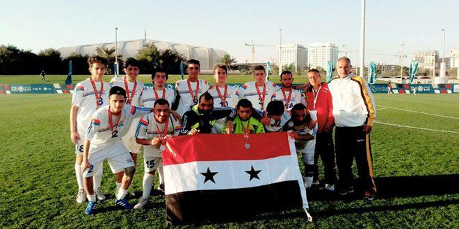45 ميدالية براقة حصيلة الأولمبياد الخاص السوري بدورة الألعاب الألعاب الإقليمية
