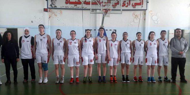 الساحل وقاسيون والثورة والأشرفية إلى نصف نهائي كأس الجمهورية بكرة السلة للسيدات