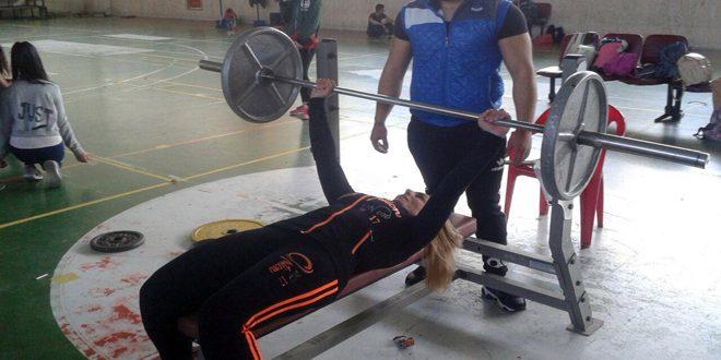 ثمانون لاعبا و لاعبة في بطولة السويداء للقوة البدنية