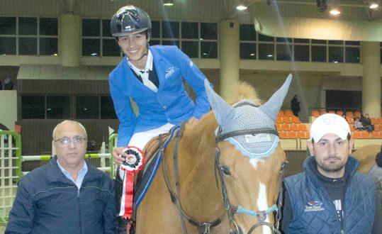 الفارس السوري زنداقي يتأهل إلى أولمبياد الشباب في الأرجنتين