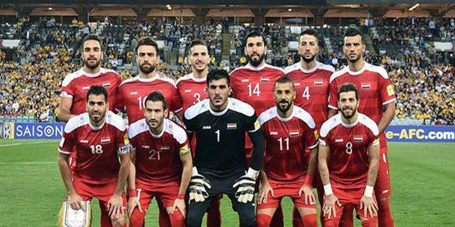 تواصل تحضيرات نسور قاسيون لبطولة الصداقة الدولية لكرة القدم