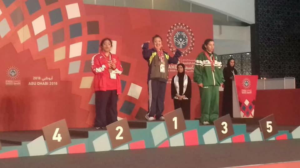 24 ميدالية متنوعة للأولمبياد الخاص السوري ضمن منافسات اليوم الأول للدورة الاقليمية التاسعة بأبوظبي