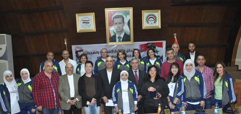 اللواء جمعة: الاتحاد الرياضي سيبقى على الدوام الداعم الأساسي لعمل مؤسسة الأولمبياد الخاص السوري وأبطالها