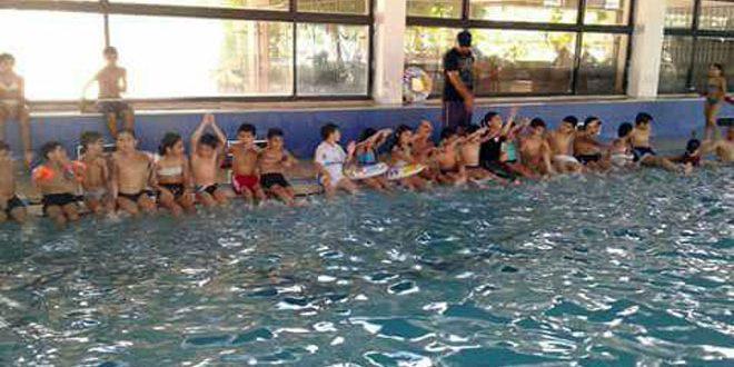 75 سباحا وسباحة تنافسوا في بطولة اللاذقية