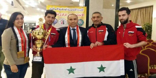 قونية لي يحقق الميدالية الفضية ولقب أستاذ اتحادي في بطولة العراق الدولية للشطرنج