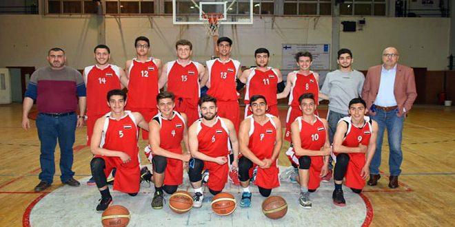 الطليعة يتأهل إلى نهائي بطولة دوري الناشئين بكرة السلة