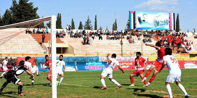 الجيش يتصدر الدوري الممتاز لكرة القدم بفوزه على الطليعة