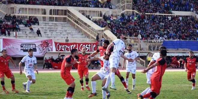 فريق الاتحاد يتصدر الدوري الممتاز لكرة القدم بعد فوزه على الوثبة