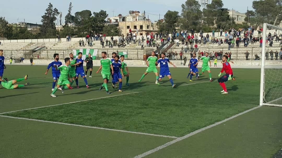 التعادل السلبي يسيطر على مباراة الشرطة وحطين في الدوري الممتاز لكرة القدم