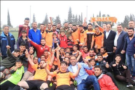 تأهل فريق مورك للدور النهائي في بطولة أندية الدرجة الثالثة  لكرة القدم بحماه