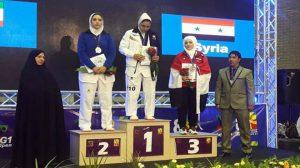 برونزيتان لمنتخب سورية للتايكواندو في بطولة الفجر الدولية