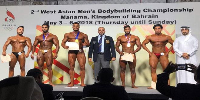 منتخب سورية للقوة البدنية يحرز 6 ميداليات في بطولة آسيا
