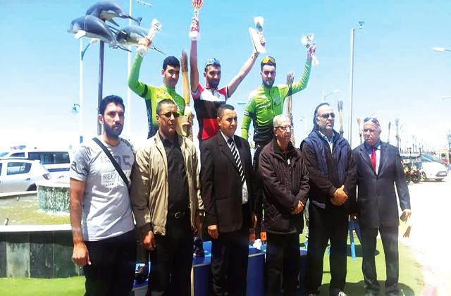 ذهبية وفضية وبرونزية للدراجات السورية في طواف مستغانم بالجزائر
