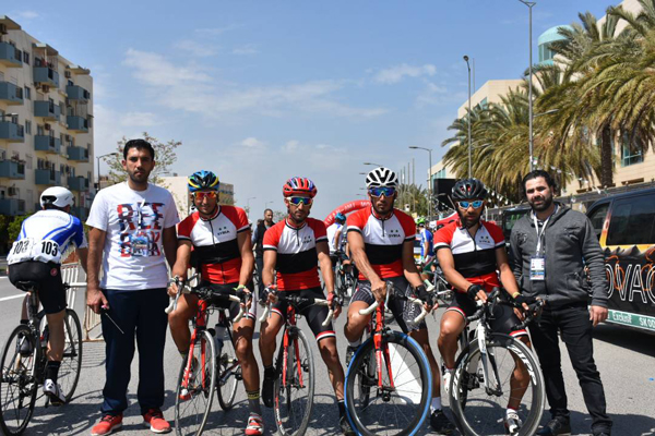 مشاركة مفيدة لمنتخب الدراجات في طواف وهران الدولي في الجزائر