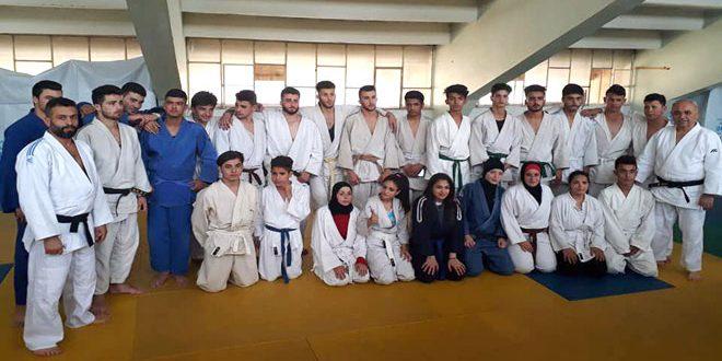 معسكر تدريبي مشترك لمنتخبي حماة واللاذقية بالجودو