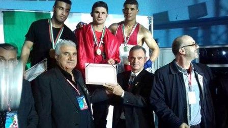 ثلاث ذهبيات وفضيتان لملاكمي الجيش في بطولة النخبة الدولية بالجزائر