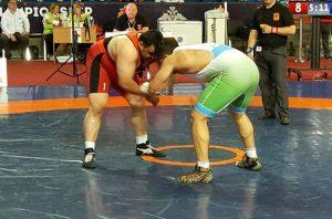 المصارع السوري رجا الكراد يحرز برونزية في بطولة العالم العسكرية
