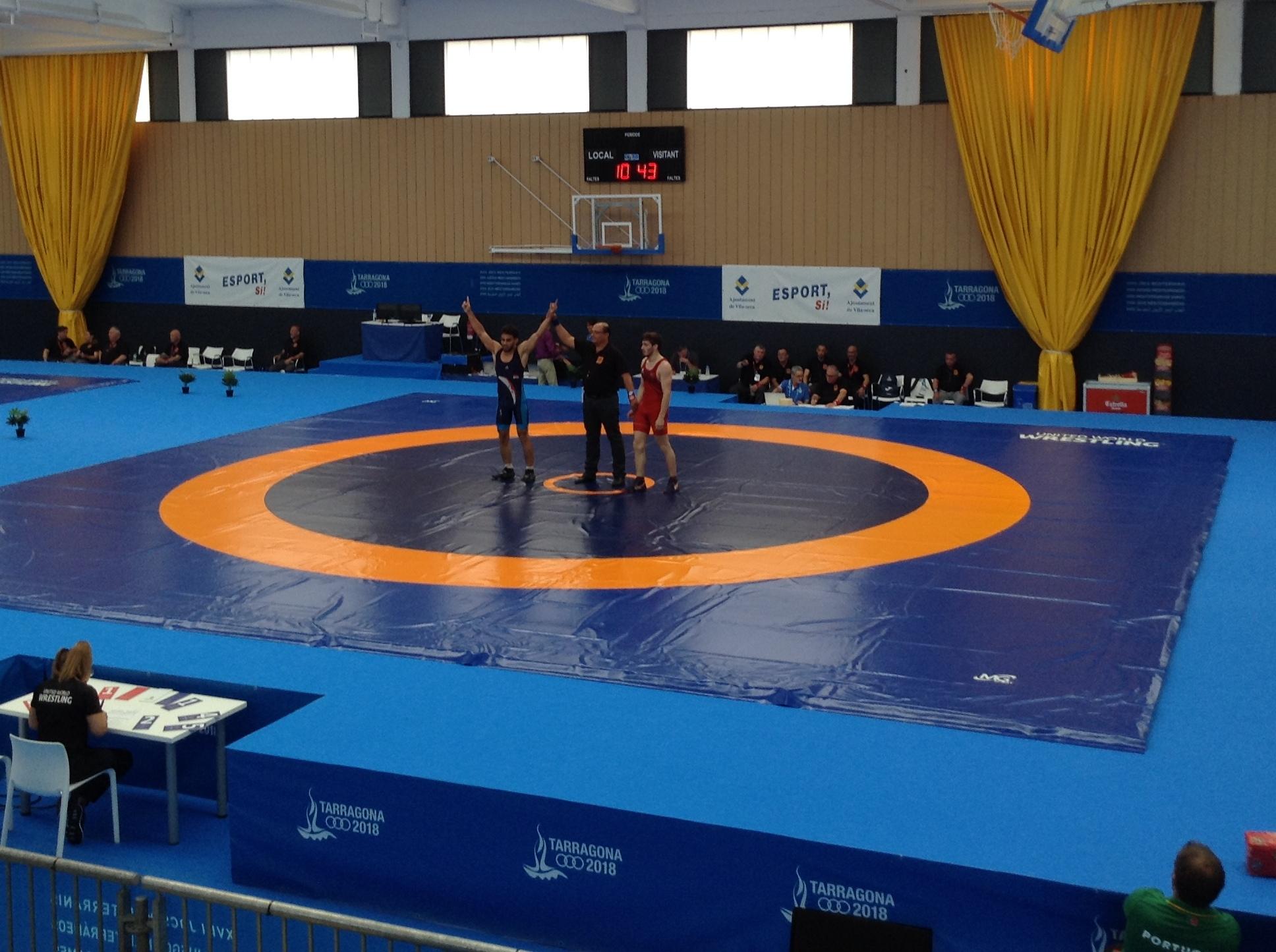 تاراغونا 2018.. نزالات الملاكمة تبدأ غداً والمصارعة الرومانية تنافس على البرونزية