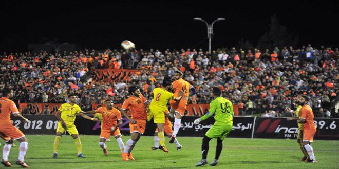 تشرين يتأهل إلى الدور ربع النهائي من مسابقة كأس الجمهورية لكرة القدم