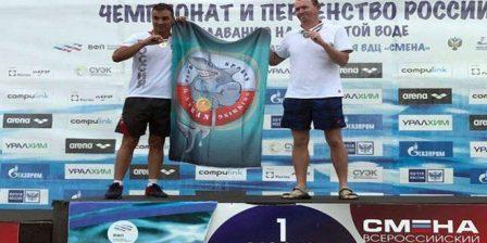 السباح السوري فراس معلا يحرز ذهبية بطولة روسيا الاتحادية لفئة الماسترز