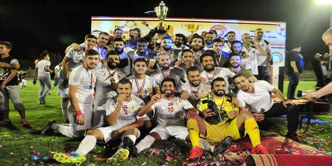 فريق الجيش يتوج بلقب بطولة كأس الجمهورية لكرة القدم للمرة العاشرة بتاريخه