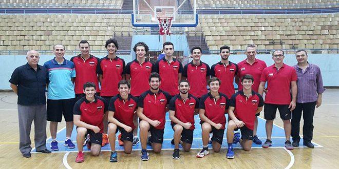 منتخبا سورية لكرة السلة تحت 15 و18 عاما يختتمان مشاركتهما في دورة بيروت الودية