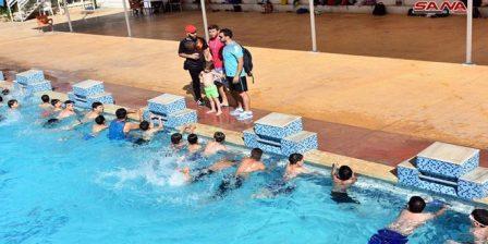 رياضة السباحة بحماة تستعيد نشاطها وتطمح لمراكز متقدمة في بطولة الجمهورية
