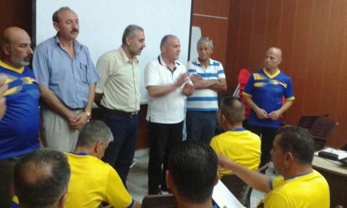 خمسون دارساً في دورة مدربي كرة القدم في طرطوس