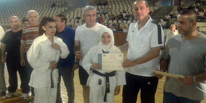 منتخبا السويداء وحمص يتصدران بطولة الجمهورية للجودو للشابات والسيدات