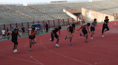 نادي الجيش يتوج بلقب بطولة الجمهورية في ألعاب القوى