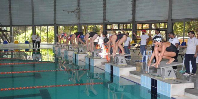 الجيش يتصدر بطولة الجمهورية للسباحة