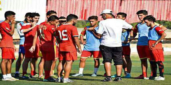 فريق تشرين يطمح لإحراز لقب دوري الشباب بكرة القدم للمرة الثانية