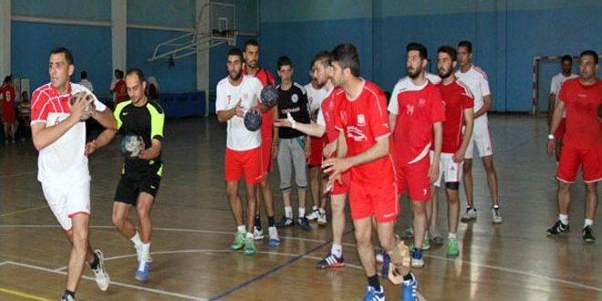 منتخب سورية لكرة اليد يخسر أمام نظيره الأردني في بطولة غرب آسيا للناشئين
