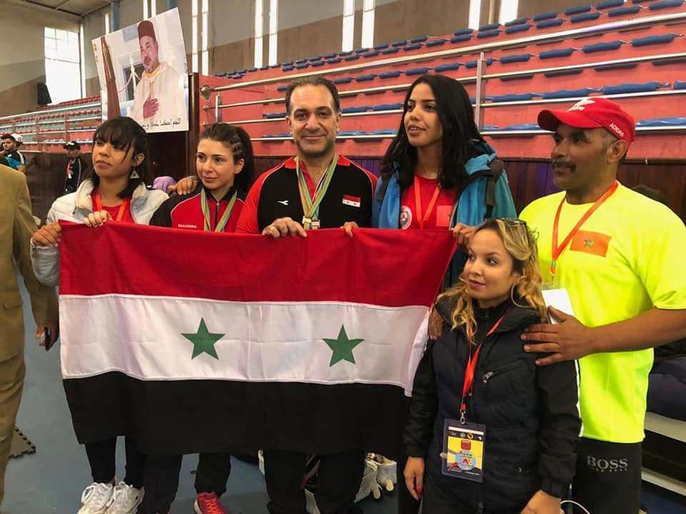 ست ميداليات ذهبية لسورية فى البطولة الافروعربية للقوة البدنية
