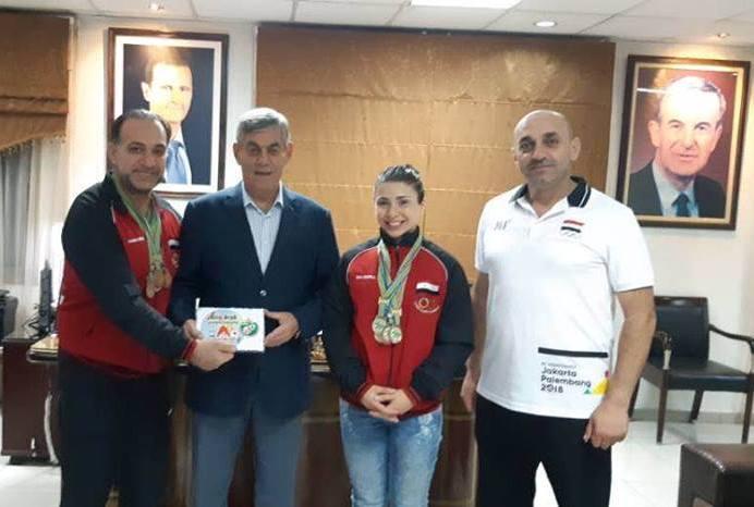 اللواء جمعة يبارك لمنتخب القوة البدنية انجازه المتميز في البطولة الأفروعربية
