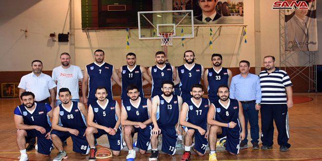 الطليعة يتغلب على النواعير في مسابقة كأس الجمهورية بكرة السلة