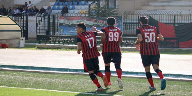 ضمن منافسات الدوري الممتاز لكرة القدم … الجيش يفوز على الاتحاد بهدف وحيد