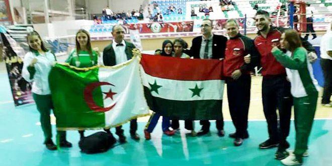 ذهبيتان لسورية في البطولة العربية بالكيك بوكسينغ بالجزائر