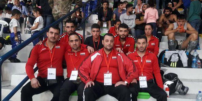تسع ميداليات متنوعة لسورية في بطولة كأس العالم للمواي تاي