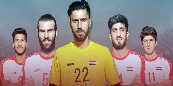 منتخب سورية الأولمبي في المجموعة الخامسة بالتصفيات الآسيوية